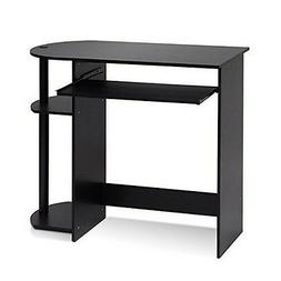 Furinno 14098R1Ex-Bk Simplistic Easy Assembly Computer Desk-