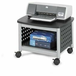 Safco Products Scoot Underdesk Printer Stand 1855BL, Black,