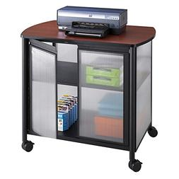 Safco Products Impromptu Mobile Print Stand with Doors 1859B