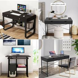 With 2 Drawers For Home Office Study Computer Desk Laptop PC