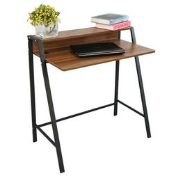 2 Tier Computer Desk Home Office PC Laptop Study Writing Tab