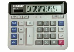 2140 12-Digit Standard Function Desk Calculator, Large Keys,