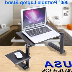 360°Adjustable PC Computer Laptop Stand Table Notebook Desk