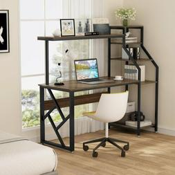 Tribesigns 4 In 1 Computer Desk Writing Workstation with Boo