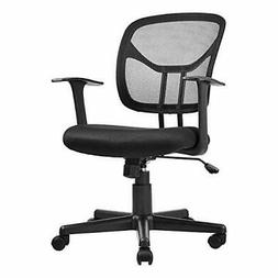 4 PCS Mid-Back Mesh Office Chair, computer task swivel seats
