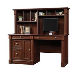 "Sauder 420513 Palladia Computer Desk and Hutch, L: 59.49"" x"