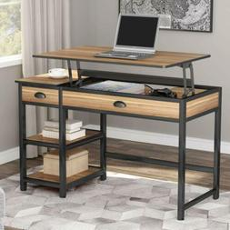 """Tribesigns 47"""" Home Office Lift Top Computer Desk Adjustable"""