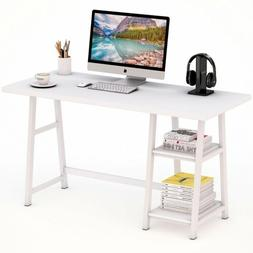 "Tribesigns 47""L Computer Desk with Heavy Duty Metal Frame an"