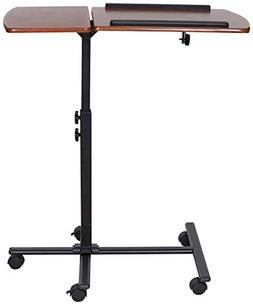 OneSpace 50-JN01 Angle and Height Adjustable Mobile Laptop C