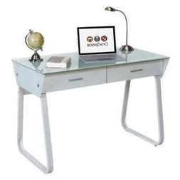 50 jn1301 computer desk with drawer glass
