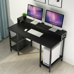 "Tribesigns 55""Modern Office Computer Table Desk Workstation"