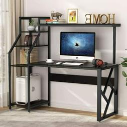 "60"" Large Rustic Office Desk Computer Table Studying Writing"