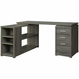 Coaster 800518 Office Desk, Weathered Grey NEW