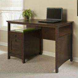 Bush Furniture Buena Vista Home Office Desk in Madison Cherr