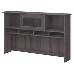 Bush Furniture Cabot Hutch in Heather Gray