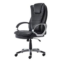 GreenForest Office Chair PU Leather Executive Computer Desk