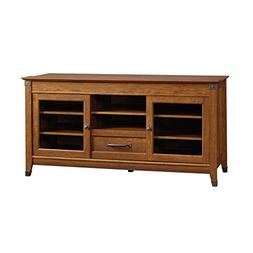 Sauder 412922 Carson Forge Entertainment Credenza, for TVs u
