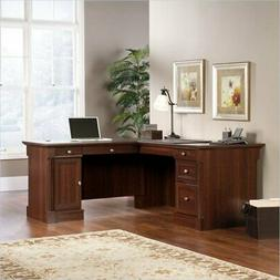 "Sauder 413670 Palladia L-Shaped Desk L: 68.74"" x W: 65.12"" x"