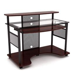 Z-line Designs - Cyrus Computer Desk - Cherry/black