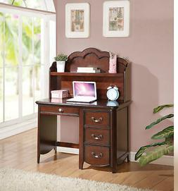 Acme Cecilie Computer Desk in Cherry Finish 30287