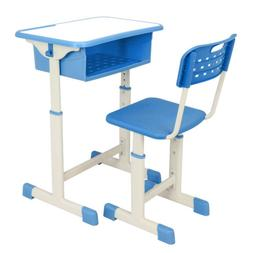 Adjustable 3 Colors Student Desk and Chair Set Child Study T
