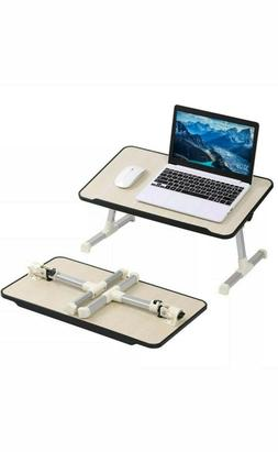 Adjustable Folding Portable Laptop Table Lap Desk Bed Comput