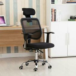 Adjustable Height Computer Desk Chair Executive Task Home Sw