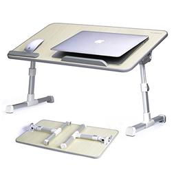 Avantree Adjustable Laptop Bed Table, Portable Standing Des