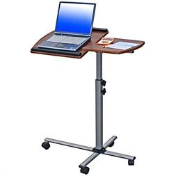 TECHNI MOBILI Ventura Mobile Laptop Stand in Mahogany