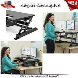 Best Choice Products 36in 2-Tier Standing Tabletop Desk Work