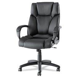 Alera ALEFZ41LS10B Fraze High-Back Swivel/Tilt Chair Black L