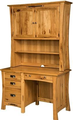 Amish File Computer Desk Hutch Small Student Solid Wood File