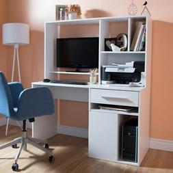 Annexe Home Office Rectangular Computer Desk With Hutch By S