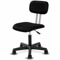 Armless Mid-back Mesh Office Chair Swivel Height Adjustable