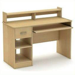 South Shore Axess Collection 42W in. Desk - Natural Maple