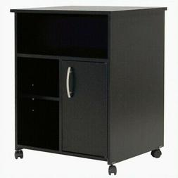 South Shore Axess Collection Printer Stand, Pure Black