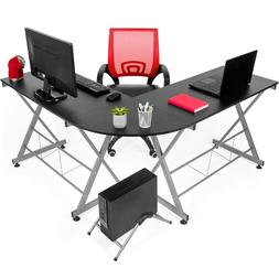 Best Choice Products L-Shape office Corner Computer Desk for