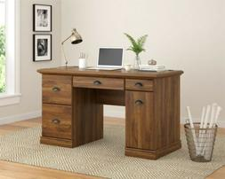 BETTER HOMES & GARDENS COMPUTER DESK WITH FILING DRAWERS, BR