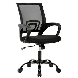 BestOffice OC-H03-Black Ergonomic Swivel Executive Adjustabl
