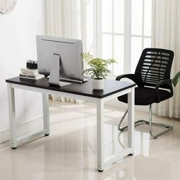 Black Wood Computer Table Study Desk Office Furniture PC Lap