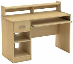 Brand New South Shore Axess Collection Desk, Natural Maple