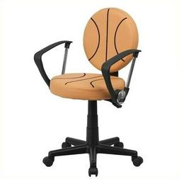 Flash Furniture Basketball Swivel Task Chair with Arms