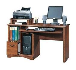 Camden County Computer Desk in Planked Cherry Finish