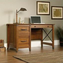carson forge engineered wood computer desk in