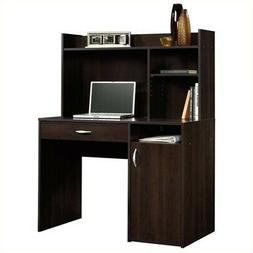 Cinnamon Cherry Desk W/ Drawer And Hutch Durable Home Office