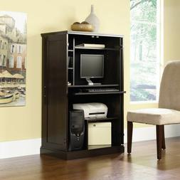 Computer Armoire Desk Hutch Workstation Cabinet Home Office