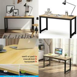 Tribesigns Computer Desk, 55 Inch Large Office Desk Computer
