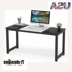 Computer Desk, 55 inch Large Office Desk Computer Table Stud