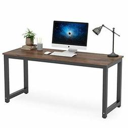 Tribesigns Computer Desk 63 inch Large Office Desk Computer