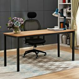 Need Computer Desk 63 inches Office Teak Black AC3BB-160 wit